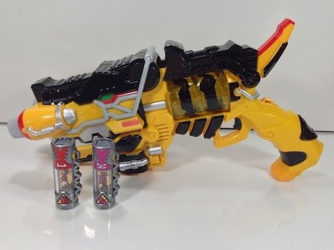 Review: Gaburevolver (Zyuden Sentai Kyoryuger), Blog Post: http://wp.me/pJgaa-1il Buy from CS Toys: http://tinyurl.com/9lc676o --- The bravest heroes of them all, the Kyoryugers, have arrived on the scene ...