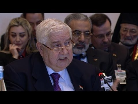 Syria's warring sides urged to end bloodshed at Geneva II