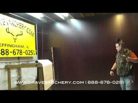 Shooting & Paper Tuning the NEW 2012 Mathews Heli-m at Draves Archery | Part I