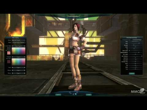 ARGO Online Character creation Noblian nation - MMO HD TV (1080p)