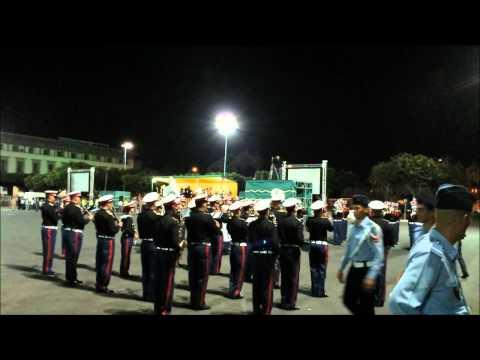 القوات المسلحة و غانغام ستايل في عيد العرش