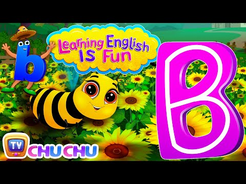 "Learning English Is Fun™ | Alphabet ""B"" 