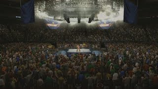 WWE 2K14 - 7 DIFFERENT ARENA TYPES!
