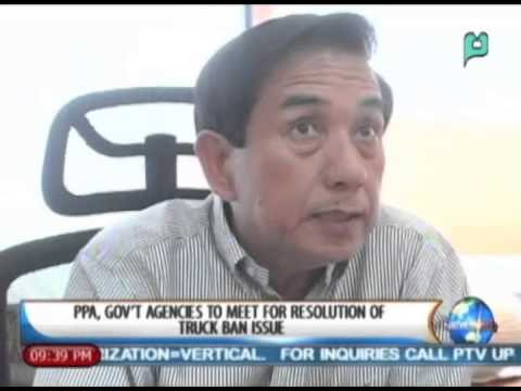 NewsLife: PPA, gov't agencies to meet for resolution of truck ban issue || March. 3, 2014