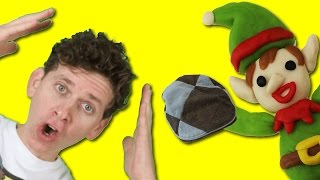 Christmas Story and Song with Matt | Elf Took My Hat | Learn English Kids