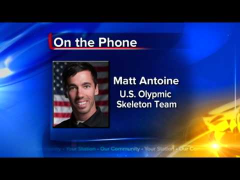 PdC native Matt Antoine makes US Olympic skeleton team