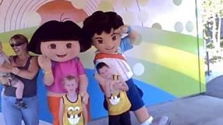 Grandkids Meet Dora And Diego