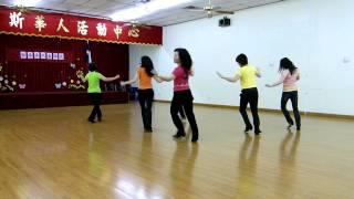 Blurred Lines Line Dance (Dance & Teach) Rachael