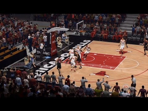 NBA Miami Heat vs Chicago Bulls - 3rd Qrt - NBA Live 14 PS4 - HD
