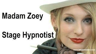 Stage Hypnotist Madam Zoey Female Hypno Spy Special