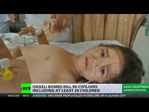 Gaza Hellfire: Israeli bombs kill 98 Palestinians, incl 20 children
