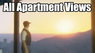 GTA Online: High End Apartment Views (Apartments With 10