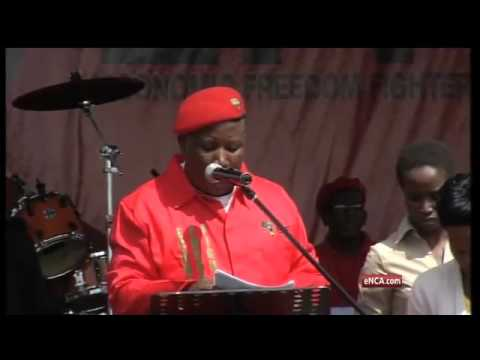 Julius Malema addresses the nation at the EFF's manifesto launch (Part8)