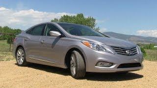 2012 Hyundai Azera Drive and Review videos