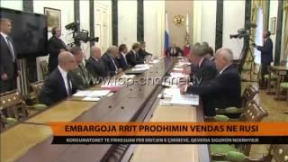 Embargoja rrit prodhimin vendas n Rusi  Top Channel Albania  News  L