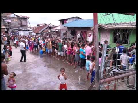 Haiyan: One month on