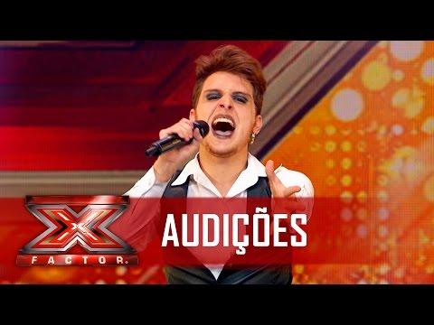 Diego conquista os jurados com Lady Gaga | X Factor Brasil