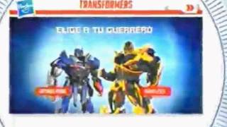 Cartoon Network LA : Anuncio Transformers Pagina Web 2014