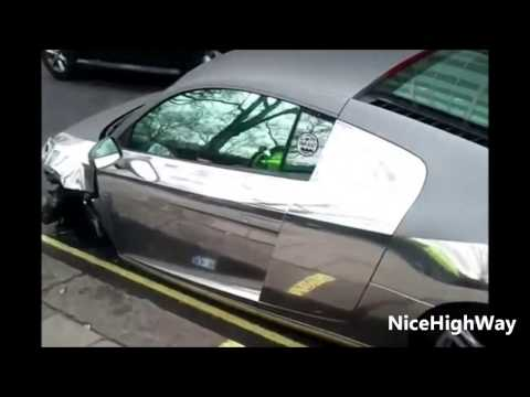 Super Car Accident Compilation 2014