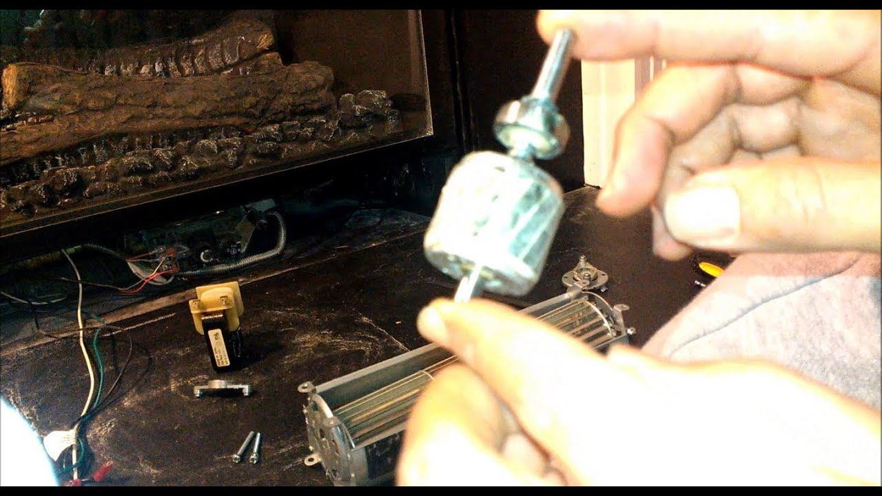 How To Revive Lubricate Your Fireplace Blower Fan Or Any Other Squirrel Cage Rotor Motor Fan