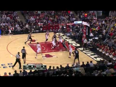 Tony Parker 20 Points 9 Assists Full Highlights Spurs vs Bulls (3.11.2014)
