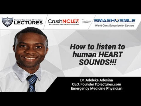 How to listen to human HEART SOUNDS!!!