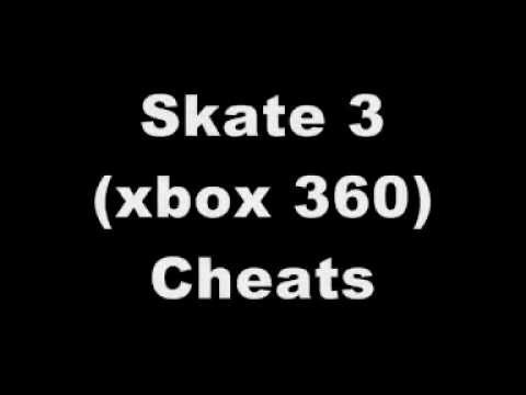 Skate 3 xbox 360 cheats youtube
