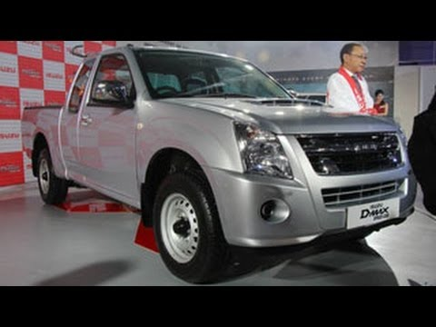 Isuzu D-Max Space Cab Revealed At The 2014 Indian Auto Expo