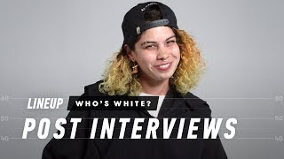 People Guess Who is White In a Group of People (Post Interview) - Lineup