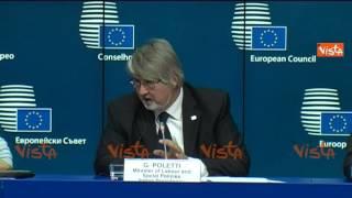 BRUXELLES POLETTI SERVE ATTENZIONE PER I GIOVANI 23-10-14