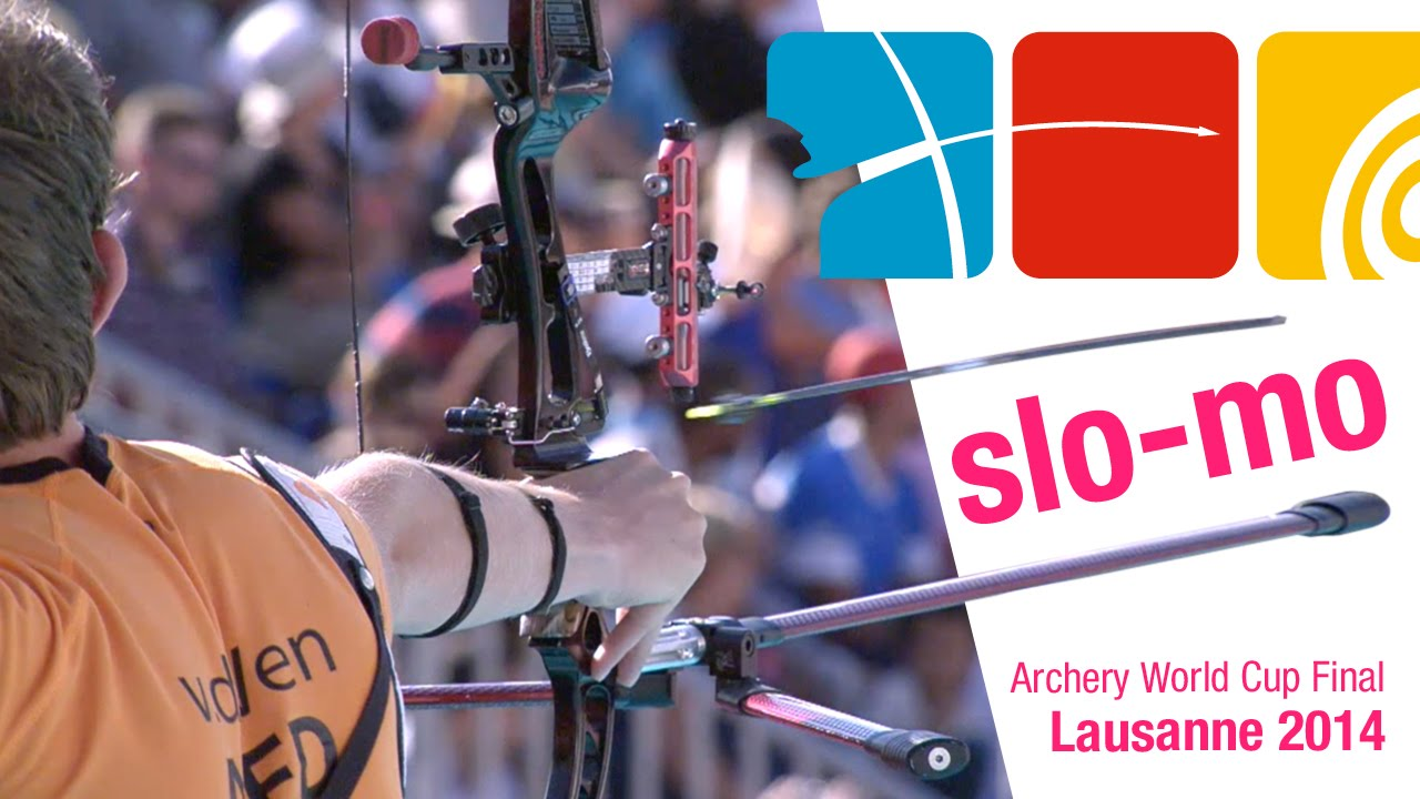 Awesome slow motion archery: World Cup Final compilation with high speed camera