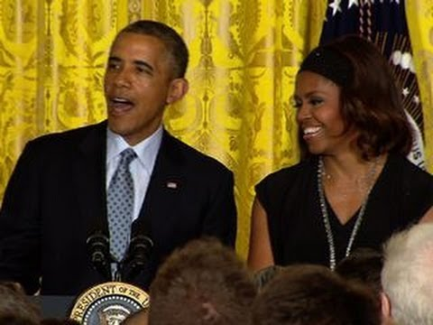 "Michelle Obama: ""There's no crack"" in White House pies"