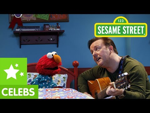 "Sesame Street: Celebrity Lullabies With Ricky Gervais, Ricky Gervais sings Elmo a lullaby. From the Sesame Street DVD ""Elmo's Animal Adventures"": http://store.sesamestreet.org/Product.aspx?cp=21415&pc=6EAM0488 If..."