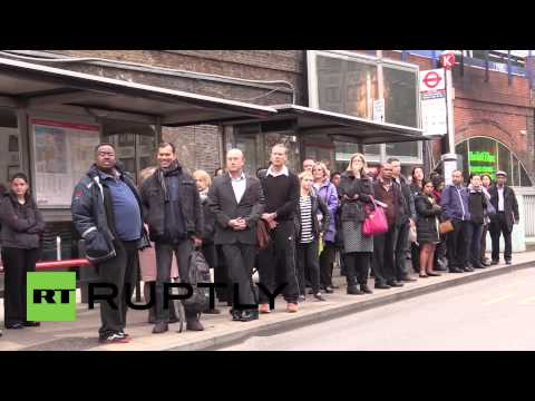 UK: Tube strike paralyses London