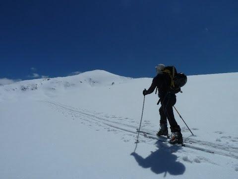 Ascensión y descenso con esquís del Tuc de Beret