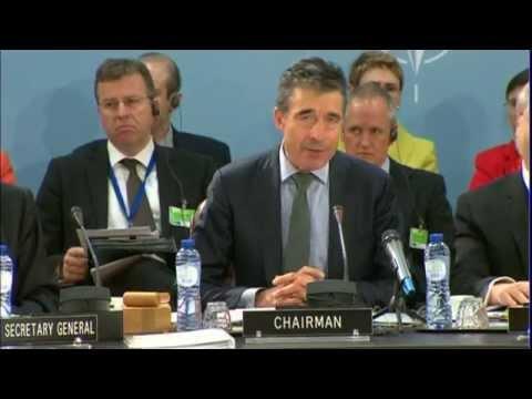 Belgium: NATO's Rasmussen condemns Russia over Ukraine
