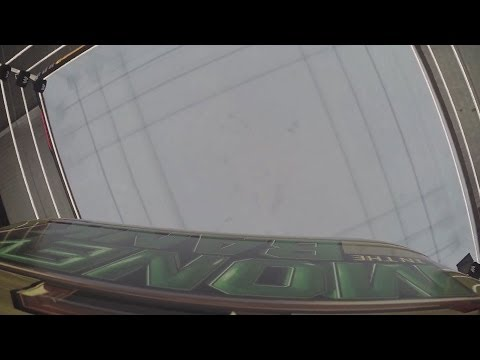 The Money in the Bank briefcase is raised high above the ring in Boston's TD Garden