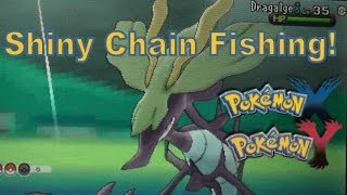 Pokemon X And Y 3DS XL Shiny / Consecutive Chain