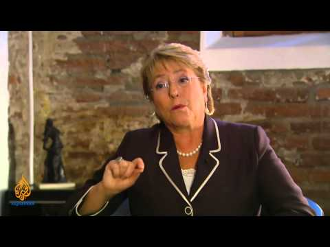 Talk to Al Jazeera - Michelle Bachelet: 'I love my country'