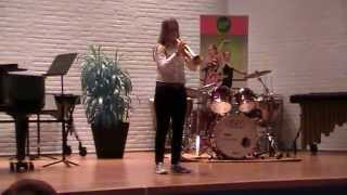 Solisten Concours Venlo - 22-03-2014 Britt van der Velden - Trompet