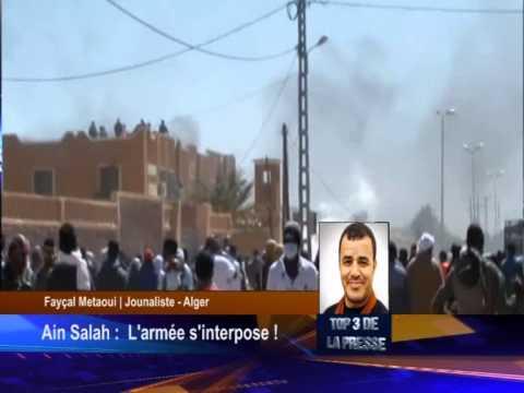 Ain Salah : Intrusion de l'Armée