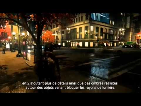 Video Watch Dogs  Les technologies NVIDIA VOSTFR gameplay