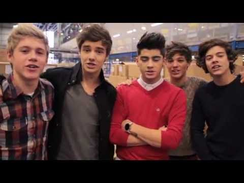 One Direction at Amazon Part 1