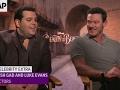 Beauty star Josh Gad would break the wrists of spell-casters