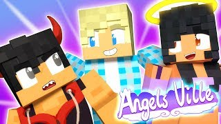 Garroth Meets His Sons | Angelsville Minecraft Survival [Ep.3]
