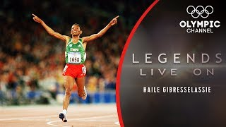 The Story of Ethiopian Athletics Star Haile Gebrselassie | Legends Live On