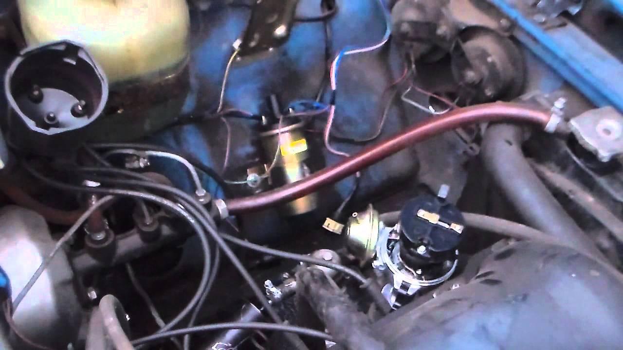 Как установить зажигание ваз 2101 видео