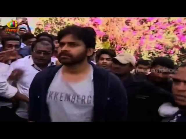 Power Star Pawan Kalyan @ Varun Tej's Debut Movie Launch