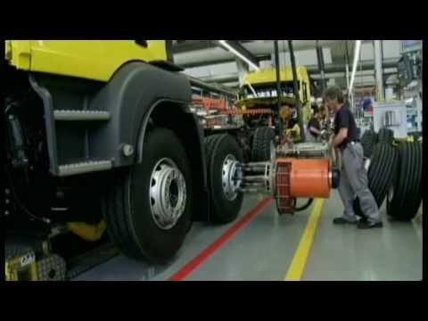Man Truck Factory in Munich(Man Münih Fabrikası)