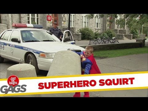 Superhero Strength Squirt
